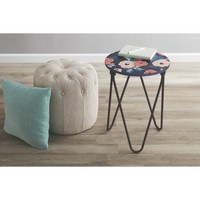 Mainstays Accent Table, Floral - Walmart.com
