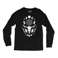 Crystal Moon Long Sleeve Shirts
