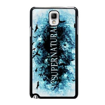 SUPERNATURAL LOGO Samsung Galaxy Note 3 Case Cover