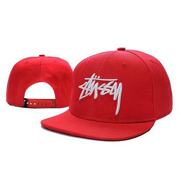Perfect Stussy Women Men Embroidery Sport Baseball Cap Hat Sunhat