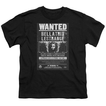 Harry Potter - Wanted Bellatrix Short Sleeve Youth 18/1 Shirt Officially Licensed T-Shirt