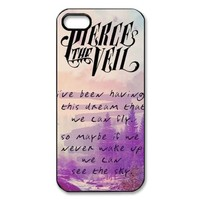 Pierce the Veil Iphone 5/5S Case Plastic Back Case for Iphone 5/5S