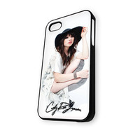 Beautiful Carly Rae Jepsen iPhone 4/4S Case