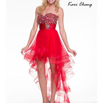 Kari Chang YC1436 Convertible Homecoming Cocktail Dress
