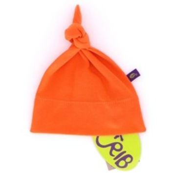 Organic Cotton Knot Infant Hat -9-12m