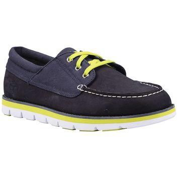 Timberland Earthkeepers Harborside 3-Eye Oxford With Recanvas Fa - Men's
