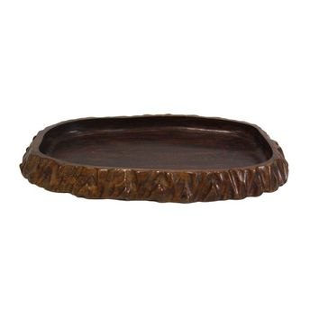 Pre-owned Vintage Wooden Serving Tray