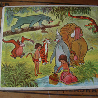 "Lovely collectible old box ""The book of the jungle"""