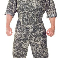 men's costume: u.s. army jumpsuit-extra extra large