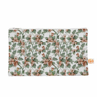 """Suzanne Carter """"Vintage Flowers"""" Green Floral Everything Bag"""