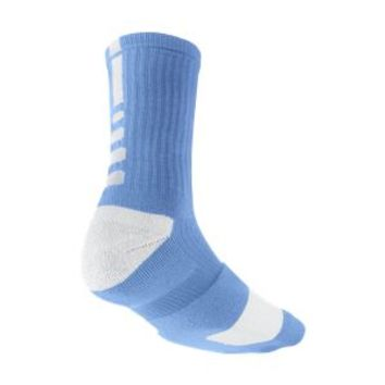 Nike Elite Crew Basketball Socks Medium/1 Pair - University Blue