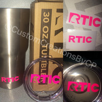 RTIC Tumbler Lid / Base / BOTH Decal