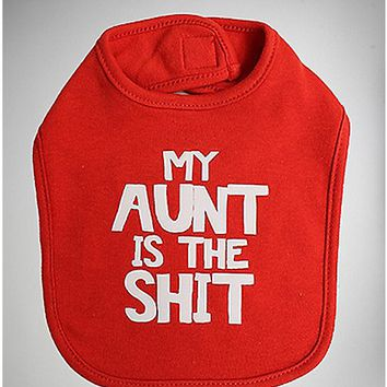 My Aunt is the Shit Bib - Spencer's
