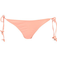 River Island Womens Light orange 3d flower bikini briefs
