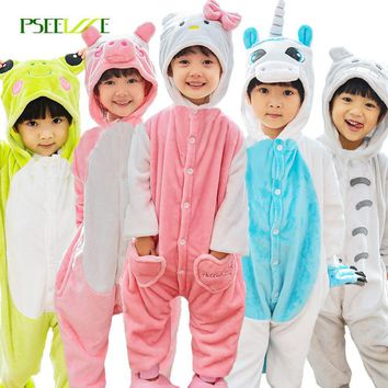 Unicorn panda pajamas for boys girl sleepwear