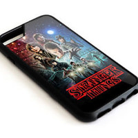 New STRANGER THINGS POSTER iPhone 7 7+ 8 8+ Hard Plastic Case Cover