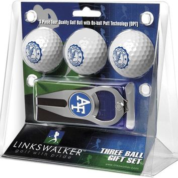 Air Force Falcons 3 Ball Gift Pack with Hat Trick Divot Tool