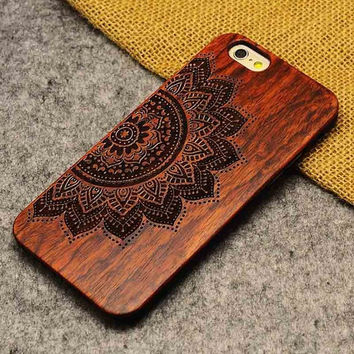 Bamboo Flower iPhone Case 5,5s,SE,6,6S,6+,7,7+