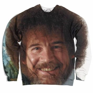 Bob Ross's Face Sweater