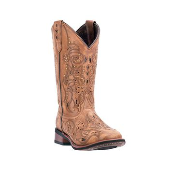 Laredo Women's Janie Western Boot Square Toe - 5643