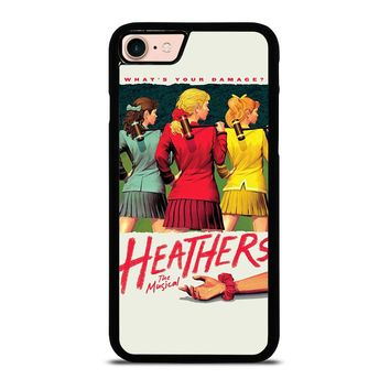 HEATHERS BROADWAY MUSICAL iPhone 8 Case Cover