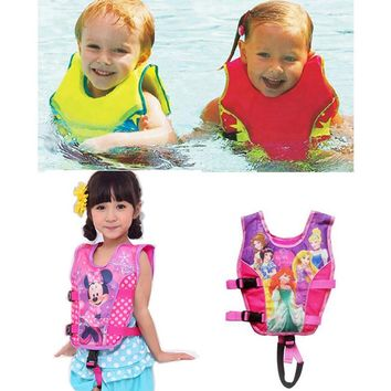 Cute Baby Swimwear Girl Buoyancy Swimsuit Baby Float Suit Boys Life Vest Kid Swim Diaper Bikini Bebe Swimming Trunks Accessories
