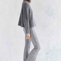 Silence + Noise Space-Dye Knit Flare Pant
