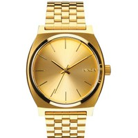 Nixon The Time Teller Watch Gold