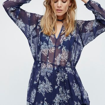 Free People Beach Bonfire Tunic
