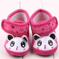 Baby Shoes 0-12Months Girl winter Boots Toddler Soft