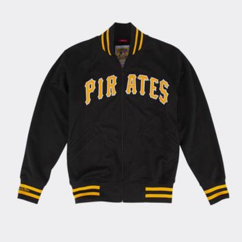ONETOW Pittsburgh Pirates 1987 Authentic BP Jacket Mitchell & Ness