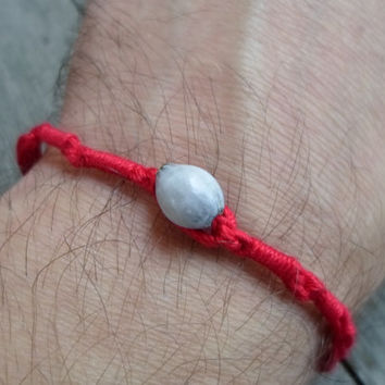 Kabbalah Bracelet / Good Luck Bracelet / Red String Bracelet / Jobs Bead / Evil Eye Bracelet / Love Bracelet