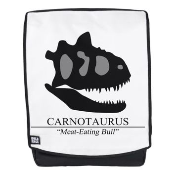 Carnotaurus Skull Backpack