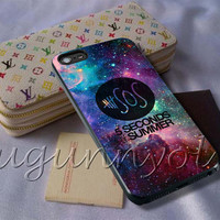 5SOS Seconds of Summer Cover - iPhone 4 4S iPhone 5 5S 5C and Samsung Galaxy S3 S4 S5 Case