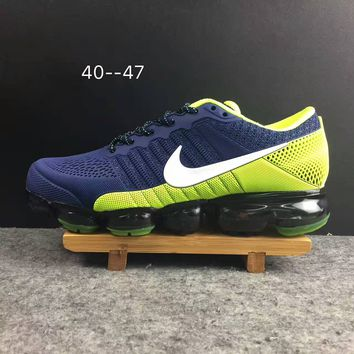 2018 Nike Air VaporMax cdg Airmax Navy/Green Sport Shoe US8-13