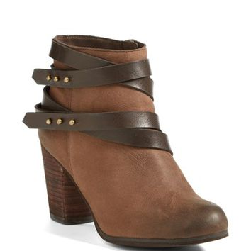 "Women's BP. 'Train' Wrap Belted Bootie, 3 1/4"" heel"