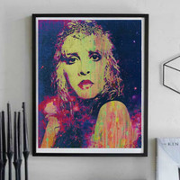 Stevie Nicks Wall Art  | Lisa Jaye Art Designs