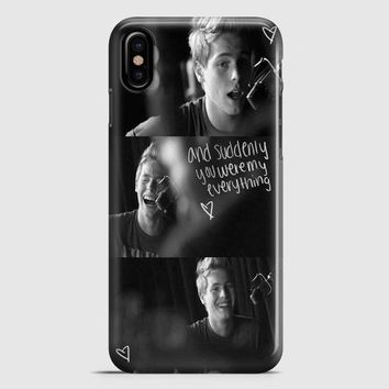 Luke Hermings Collages All Photo iPhone X Case