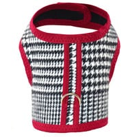 Glen Plaid Brushed Cotton Dog Cat Vest Harness