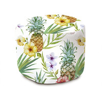 Pineapple Paradise Pouffe