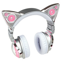 Limited Edition Ariana Grande Wireless Bluetooth Cat Ear Headphones