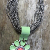 Sookie Sookie Indian Summer Mint Necklace