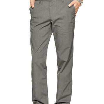 Lightweight Textured Pant Straight Fit