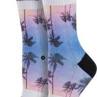 STANCE PURPLE NIGHT ATHLETIC SOCK