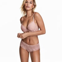 Lace Hipster Briefs - from H&M