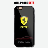 Ferrari F12 Berlinetta Automotive Logo Custom For iPhone Case Cover