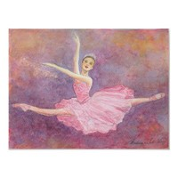 Sugar Plum Fairy Ballet Art Print from Zazzle.com
