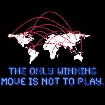 WarGames Winning Move Movie Poster 11x17