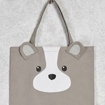 Puppy Graphic Eco Tote