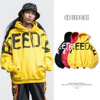 Men Hats Men's Fashion Alphabet Couple Hoodies [362314956829]